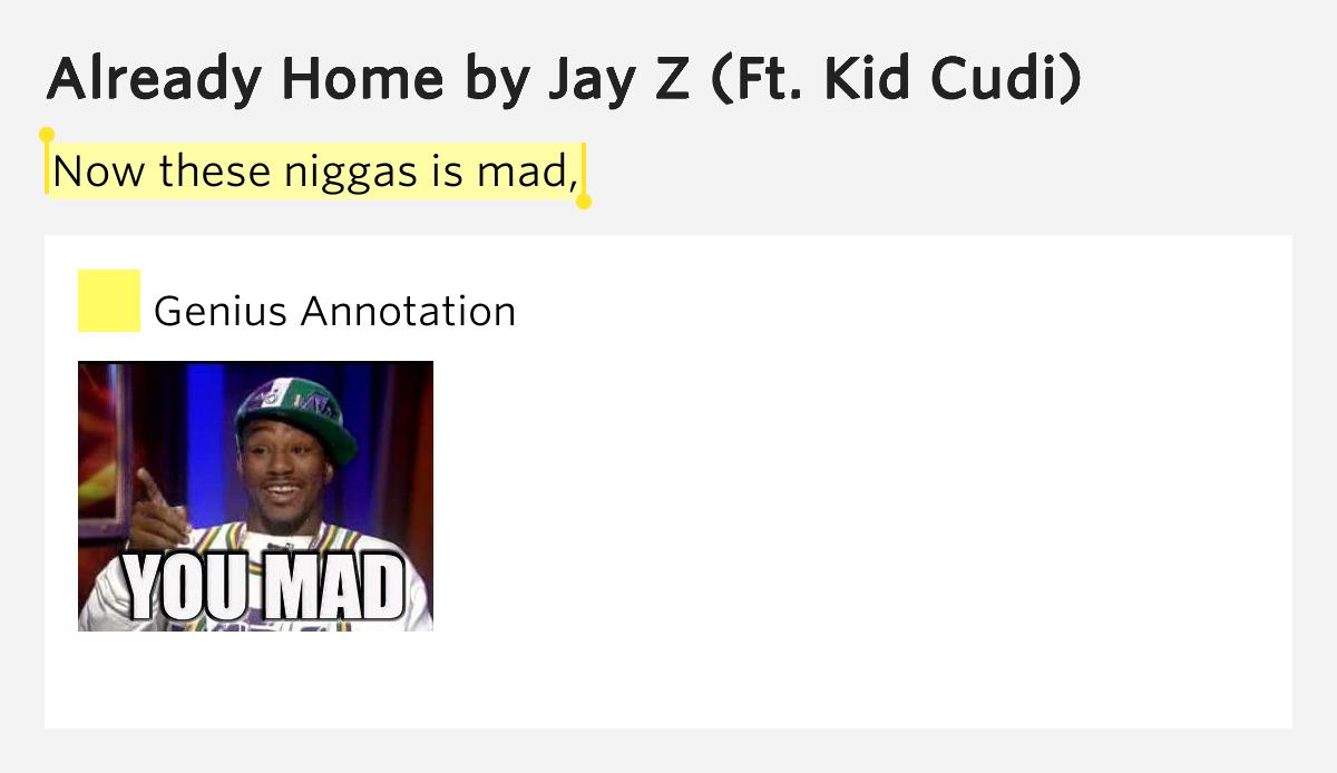 Already Home Jay Z Kid Cudi Lyrics