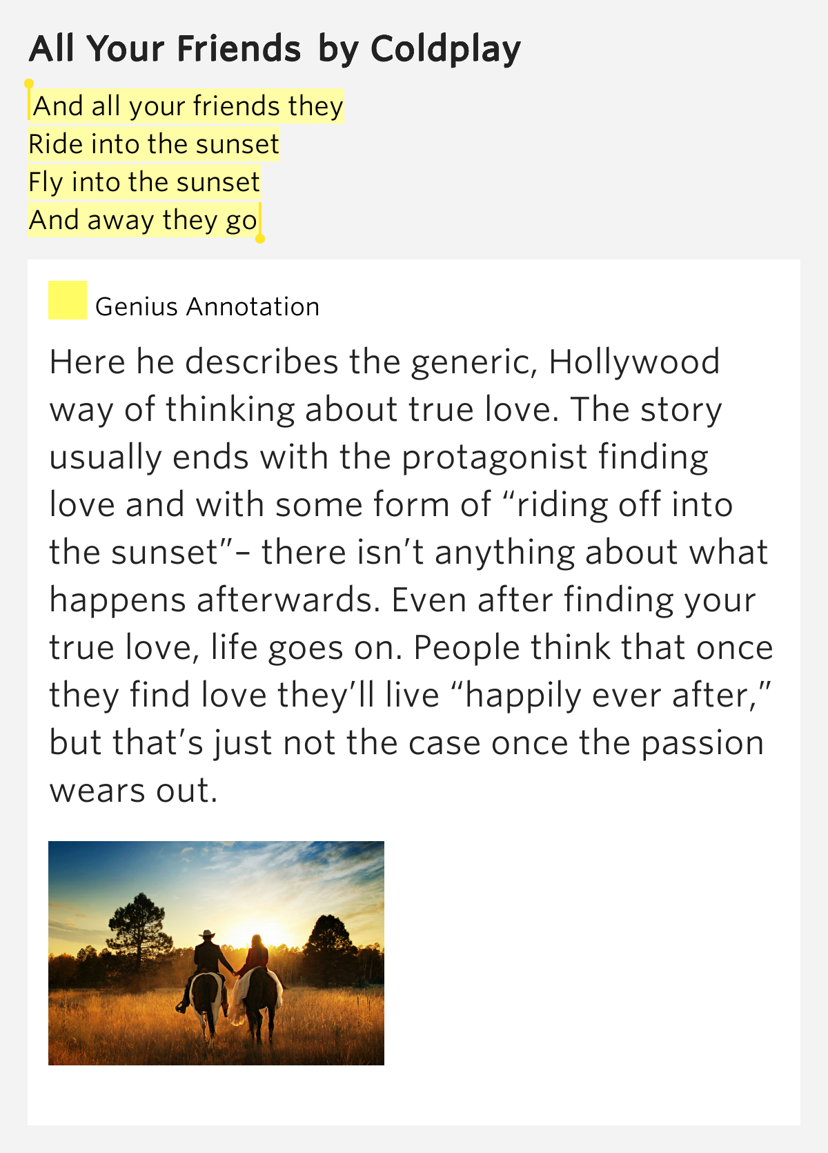story genius meet someone