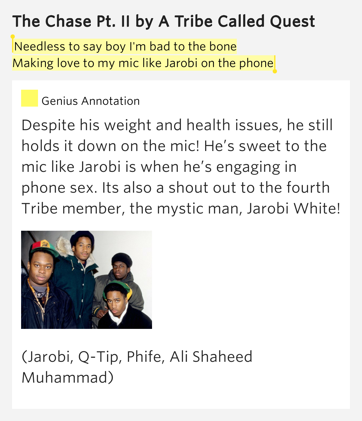a tribe called quest lyrics - photo #6