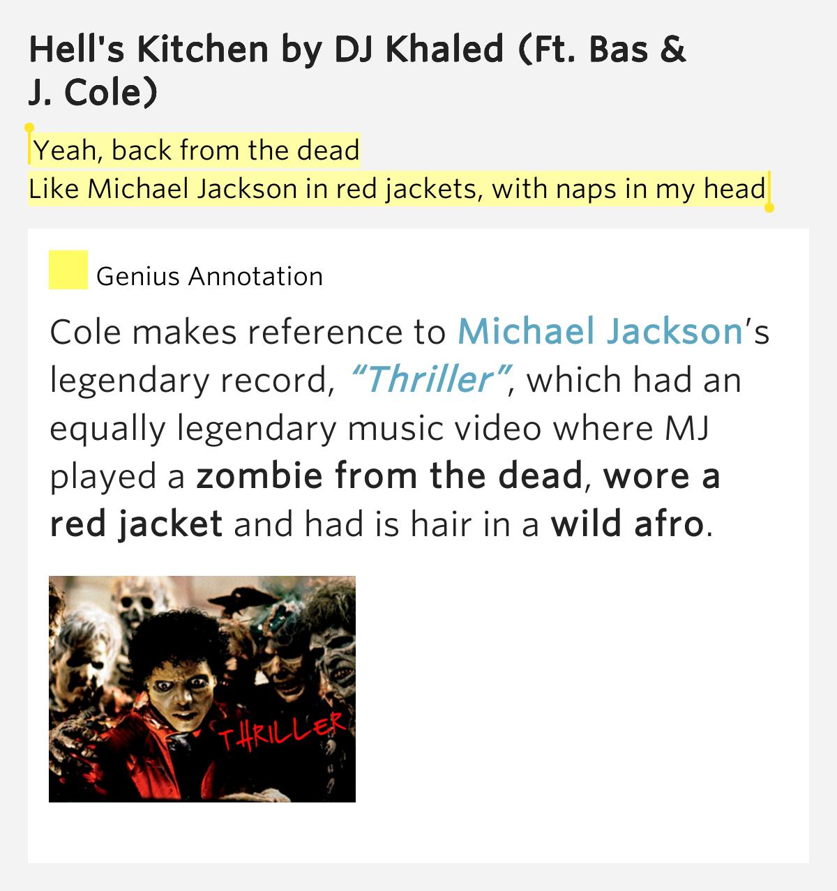 Hell Kitchen J Cole Lyrics