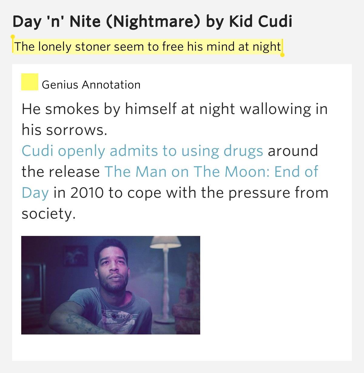 Kid Cudi Day N Nite Meaning