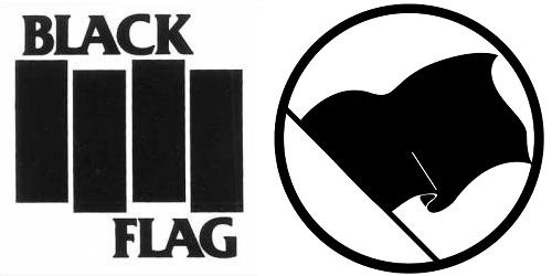 machine gun black flag