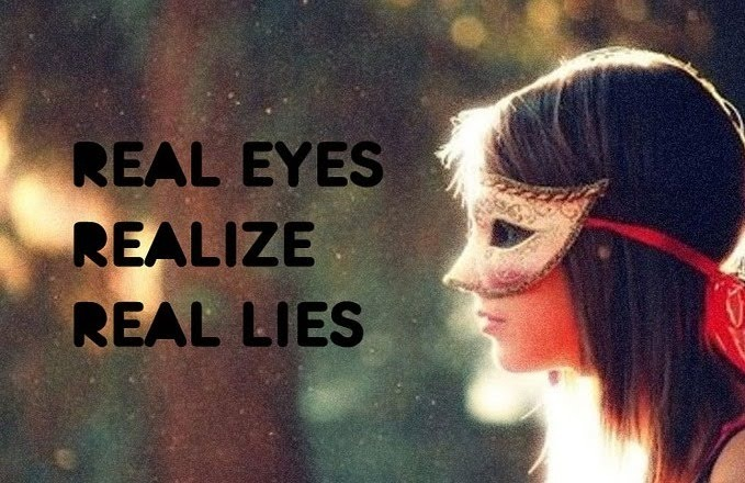 "Real Eyes Realize Real Lies Quote Compare The Quote ""real Eyes"