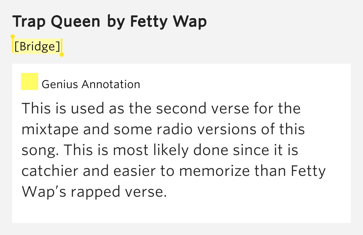 trap queen song