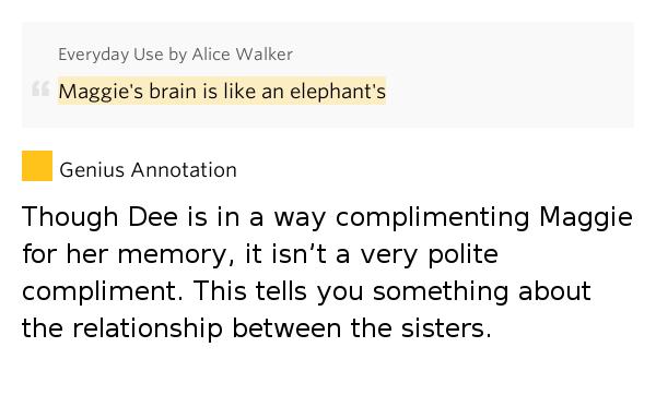 everyday use dee