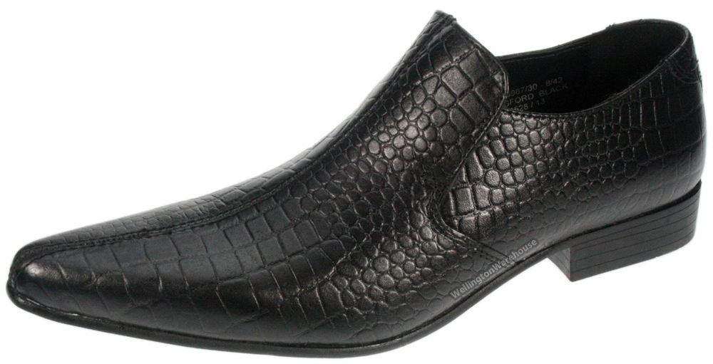 Mens dress shoes w/resizers - BROWN Gators - COPY