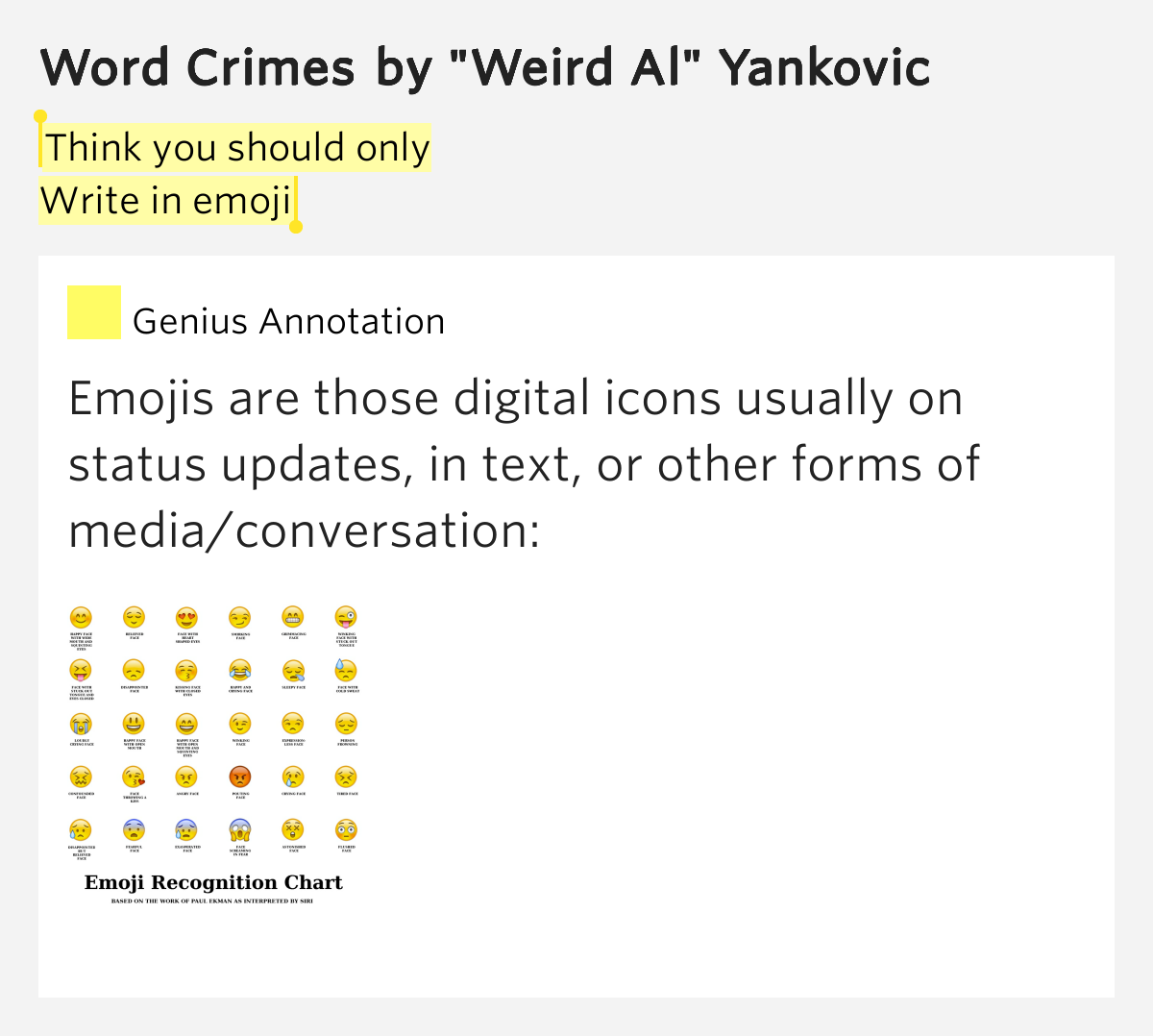 reaction to word crimes Here's the context: so has gone the reaction of many to the news that facebook is buying the mobile photo-sharing service instagram[] could at be used as well.