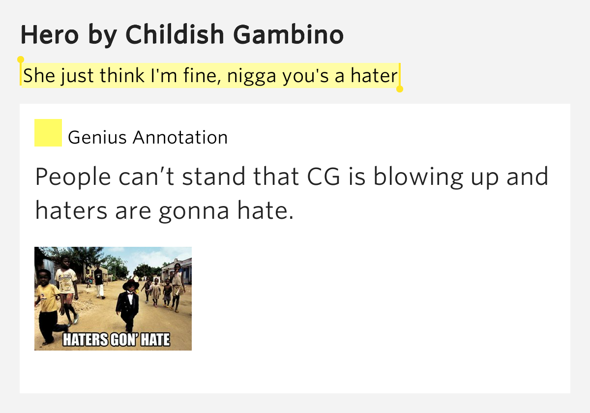childish gambino think of me - photo #34