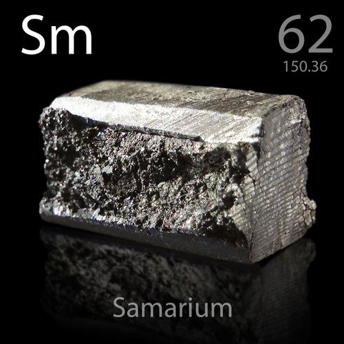 62 Samarium Sm Periodic Table Meaning