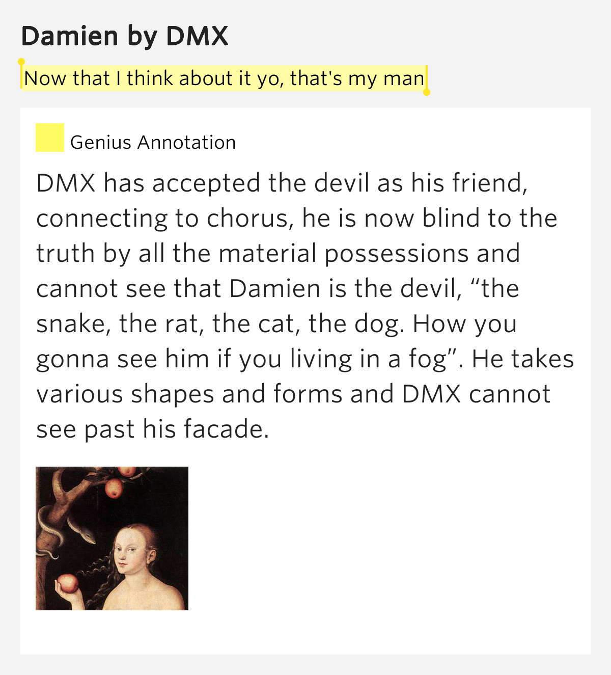 The Snake The Rat The Cat The Dog Dmx