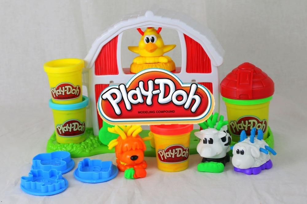 Play Doh Farm Set