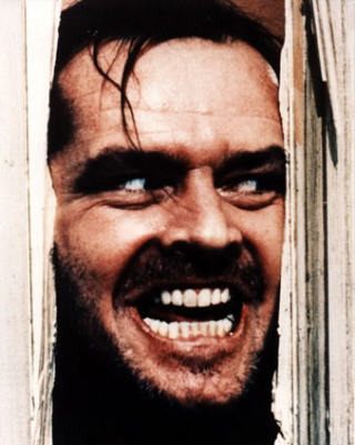 Improve the quality of Crazy  Jack Nicholson Smile Shining