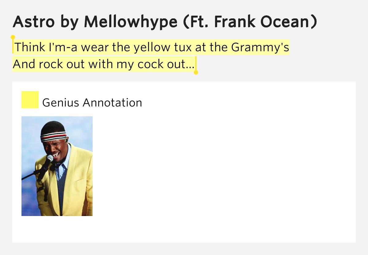 MellowHype - Astro ft (Frank Ocean) Lyrics - YouTube