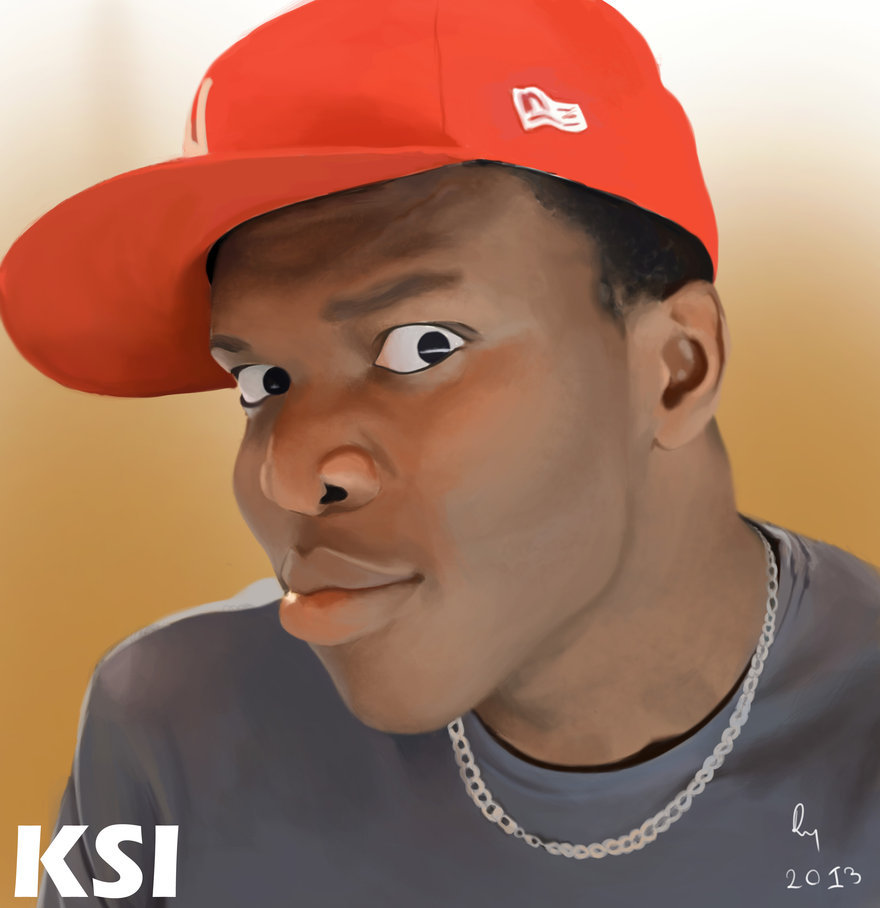 Ksi A in famous English Youtuber