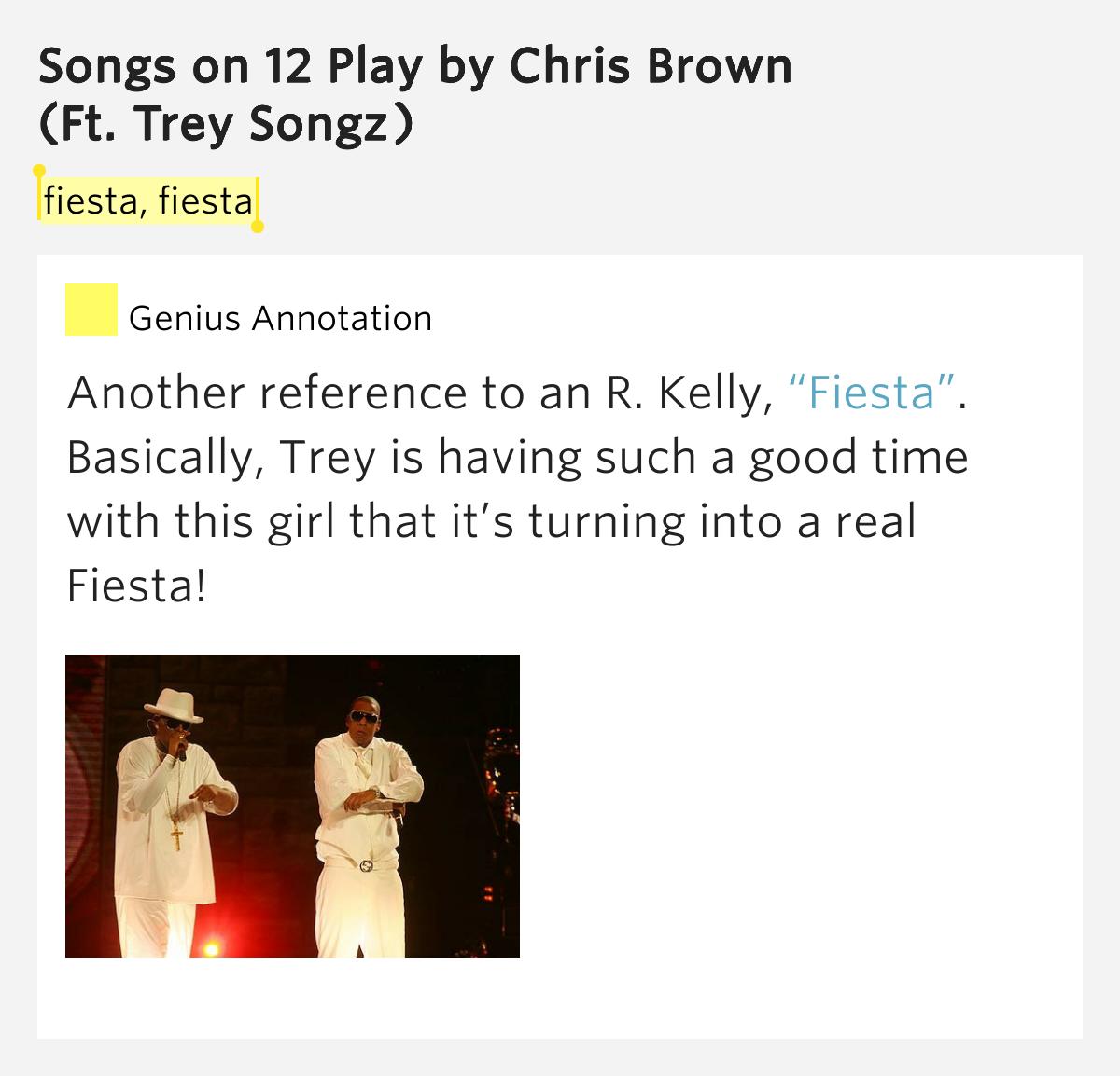R. Kelly – Fiesta Lyrics | Genius Lyrics