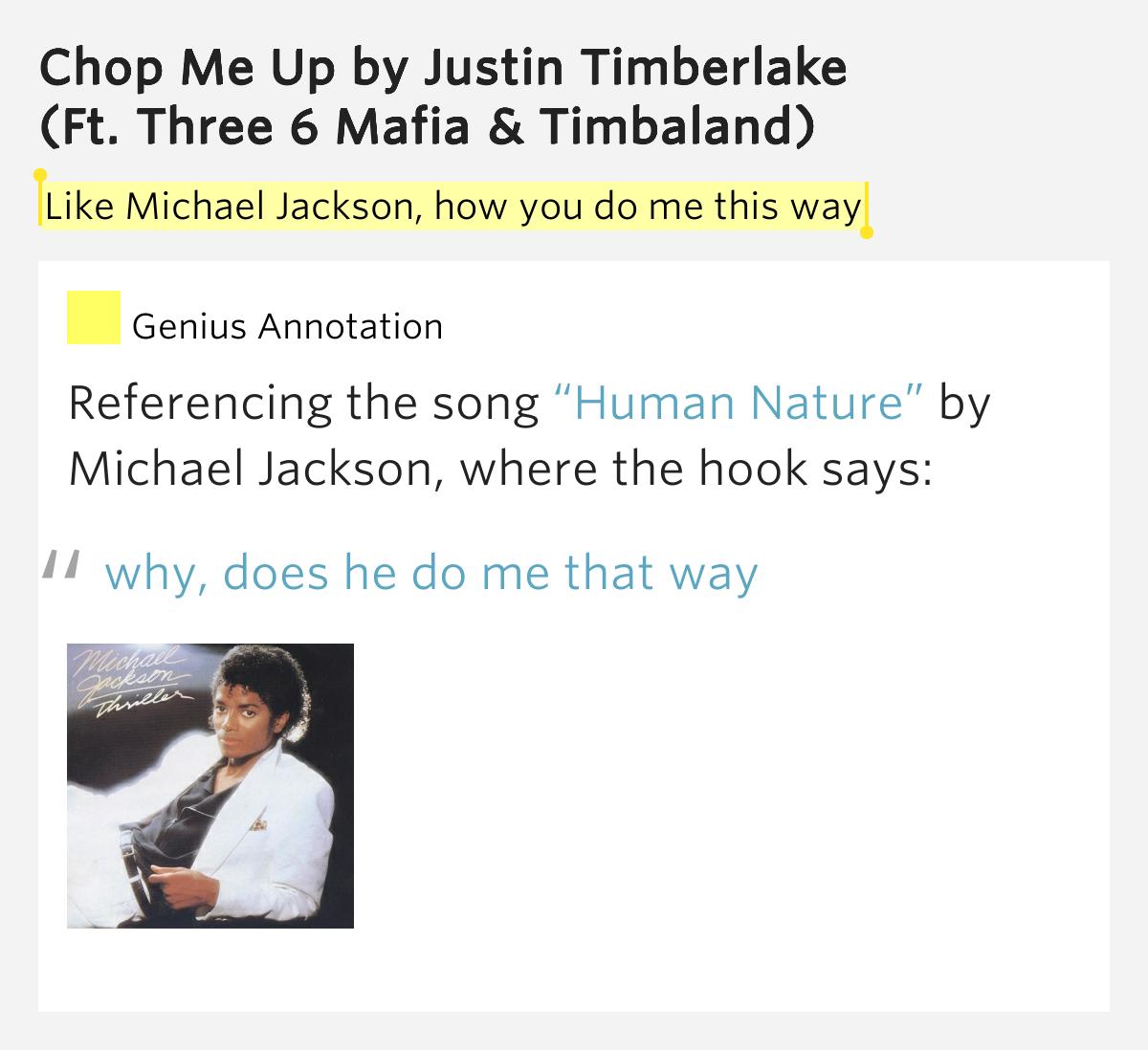 Why Michael Jackson Lyrics Human Nature