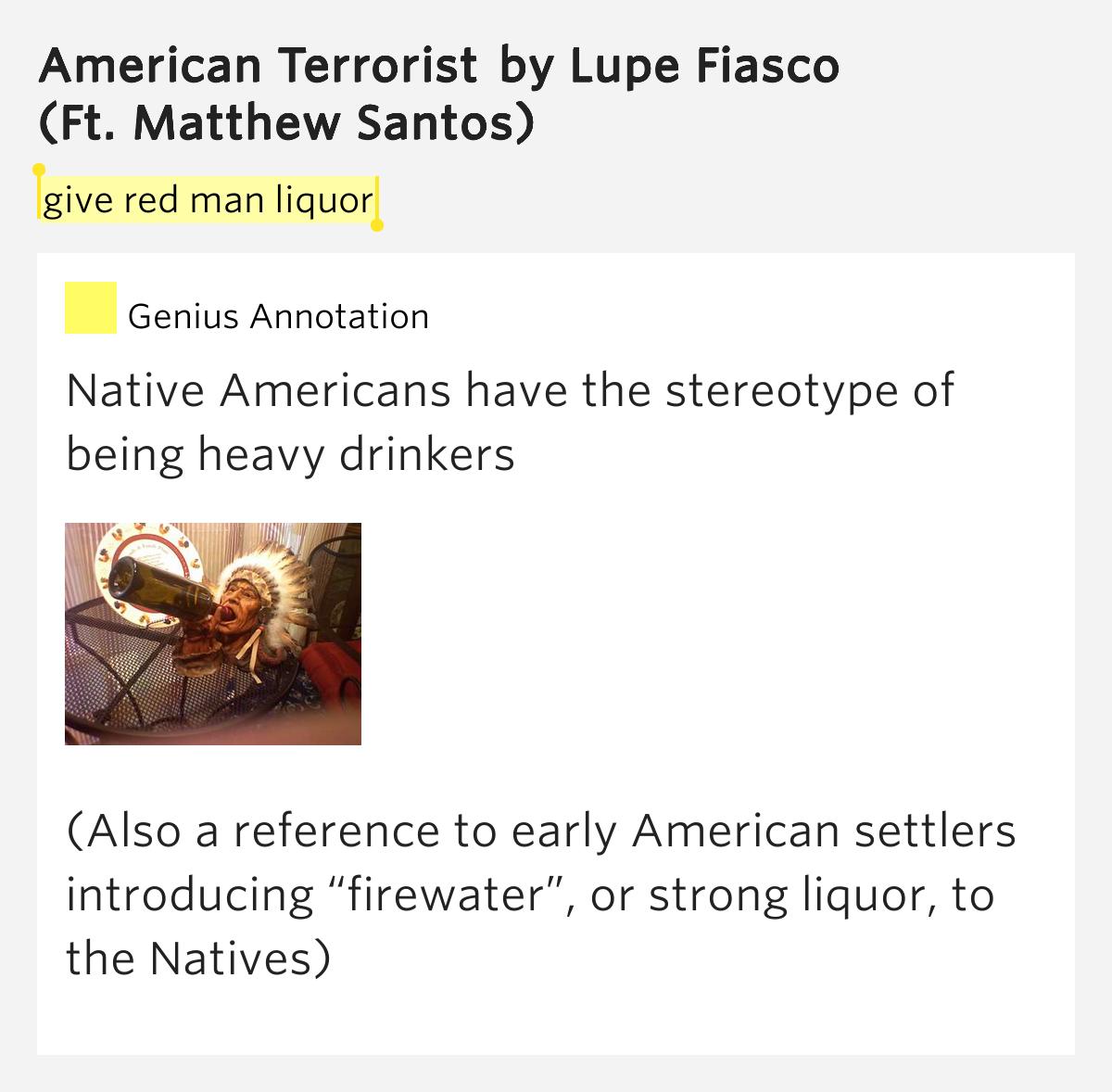 Lupe Fiasco - American Terrorist (with lyrics) - YouTube