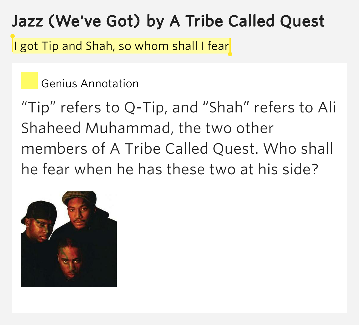 a tribe called quest lyrics - photo #12