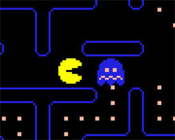 the gallery for gt pacman ghost blue