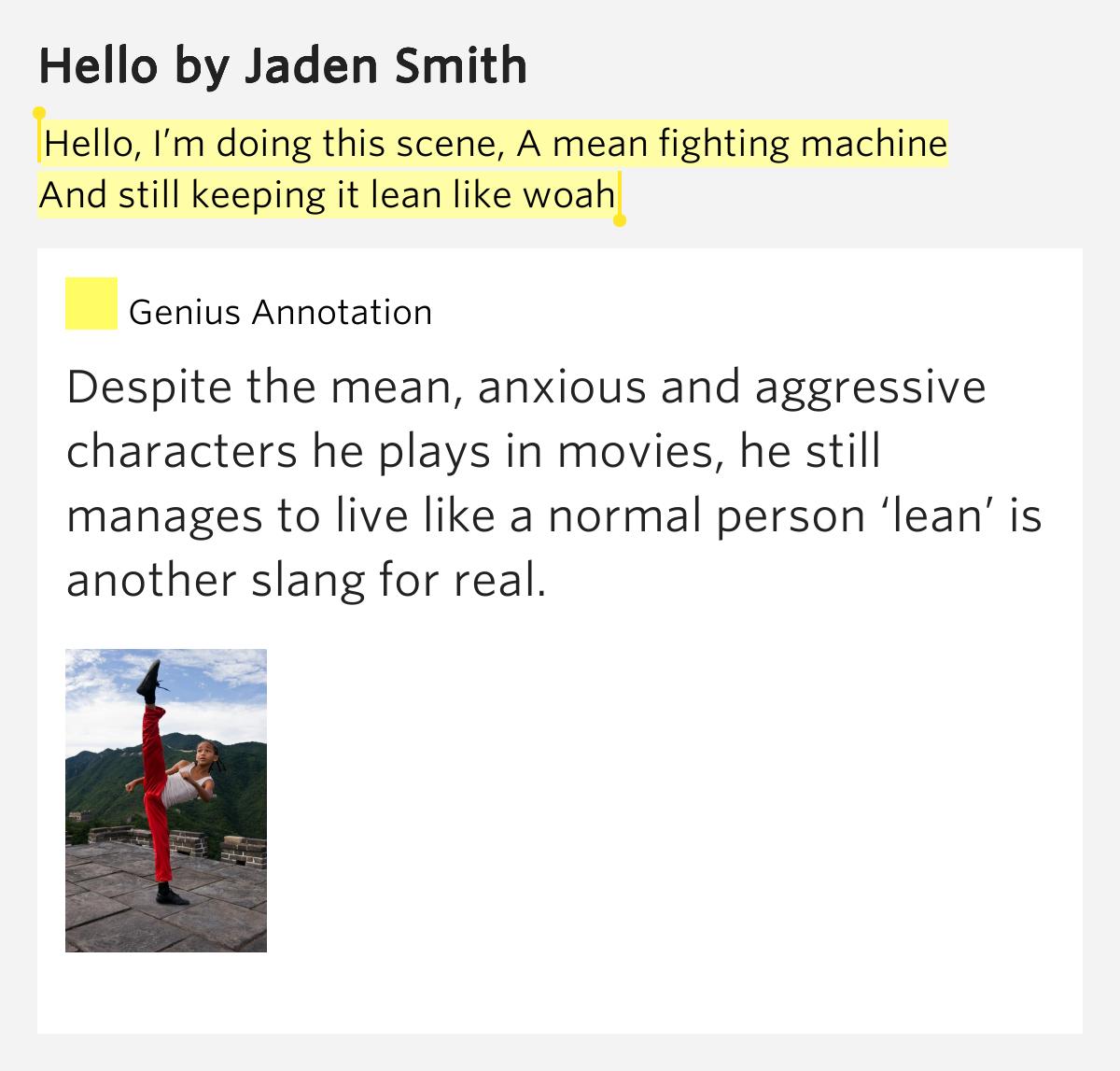 lean fighting machine quote