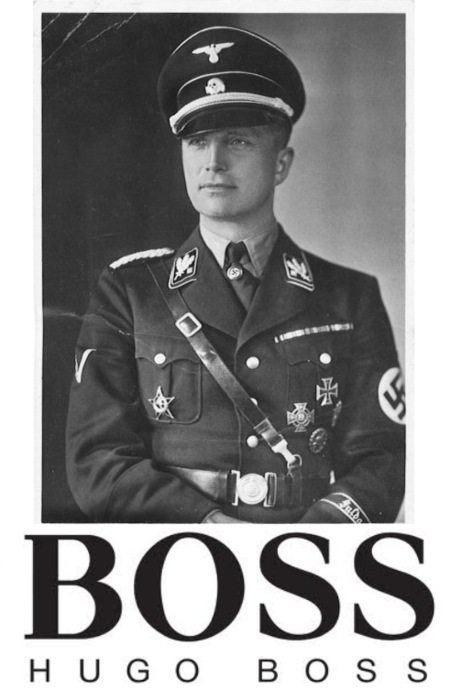 uniforme hugo boss allemand
