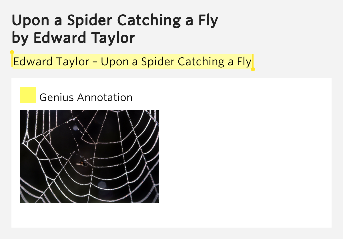 upon a spider catching a flyyyy (requiring no crawling), thus catching the fly see also: geodesic  referenced  on wolfram|alpha: spider and fly problem cite this as: weisstein, eric w.
