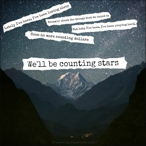 OneRepublic - Counting Stars Lyrics | MetroLyrics