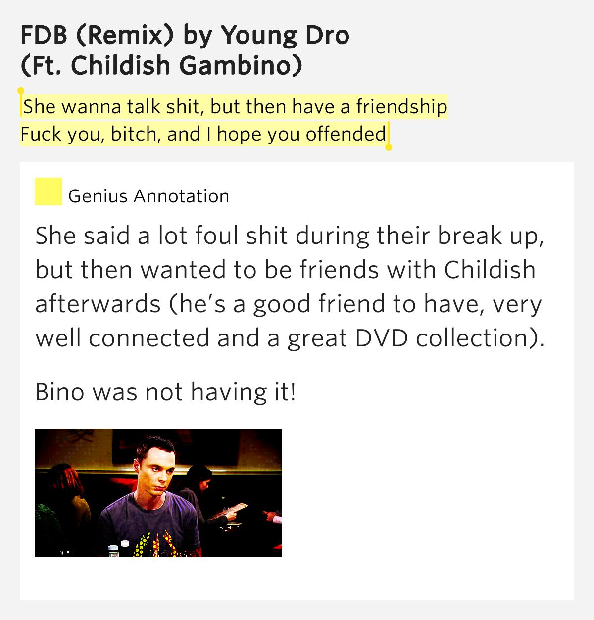 fdb childish gambino