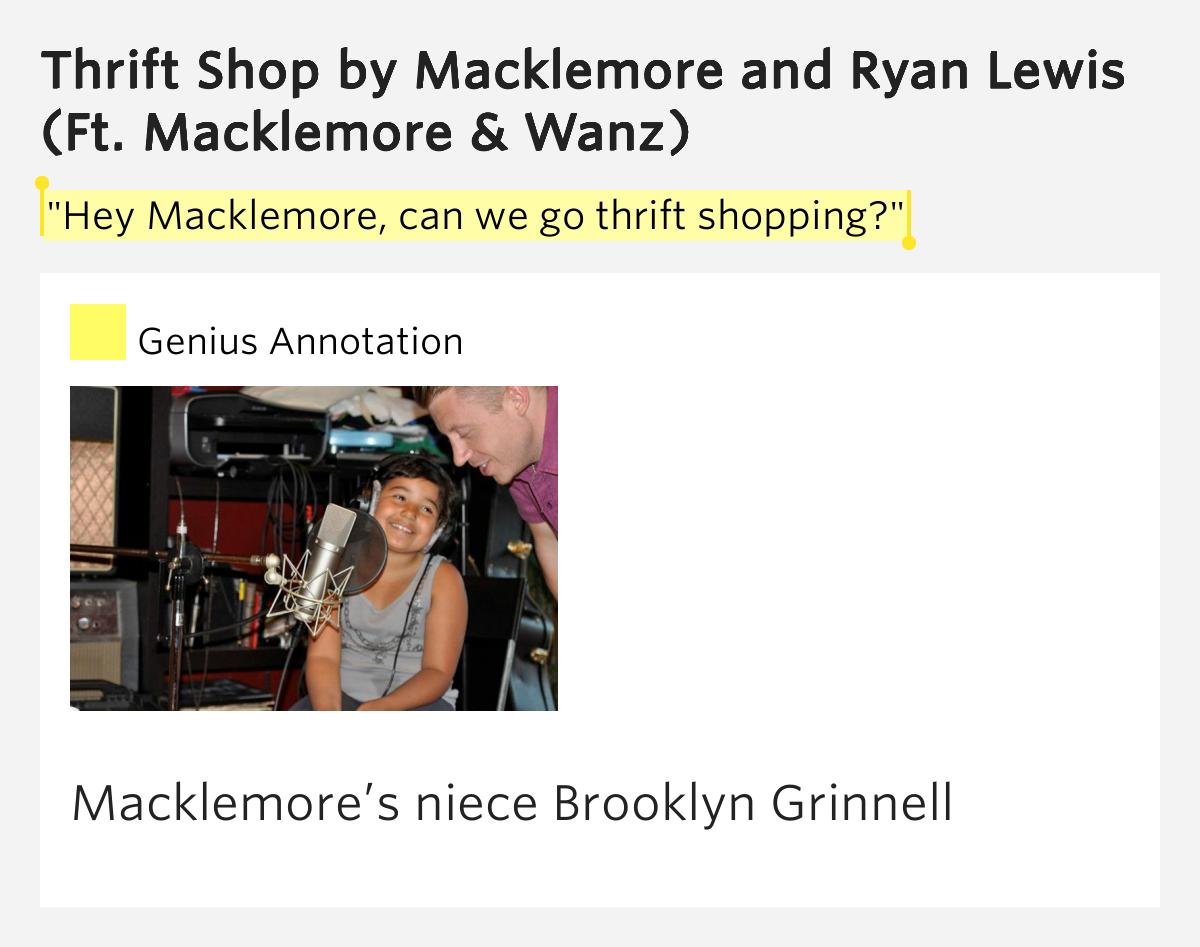 hey macklemore can we go thrift shopping thrift shop lyrics