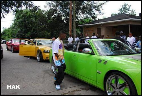Lil Boosie Old School Car