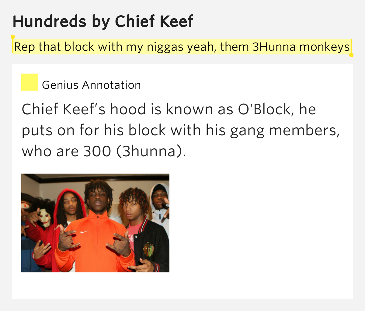 Chief Keef feat. Soulja Boi - 300 Lyrics   Musixmatch