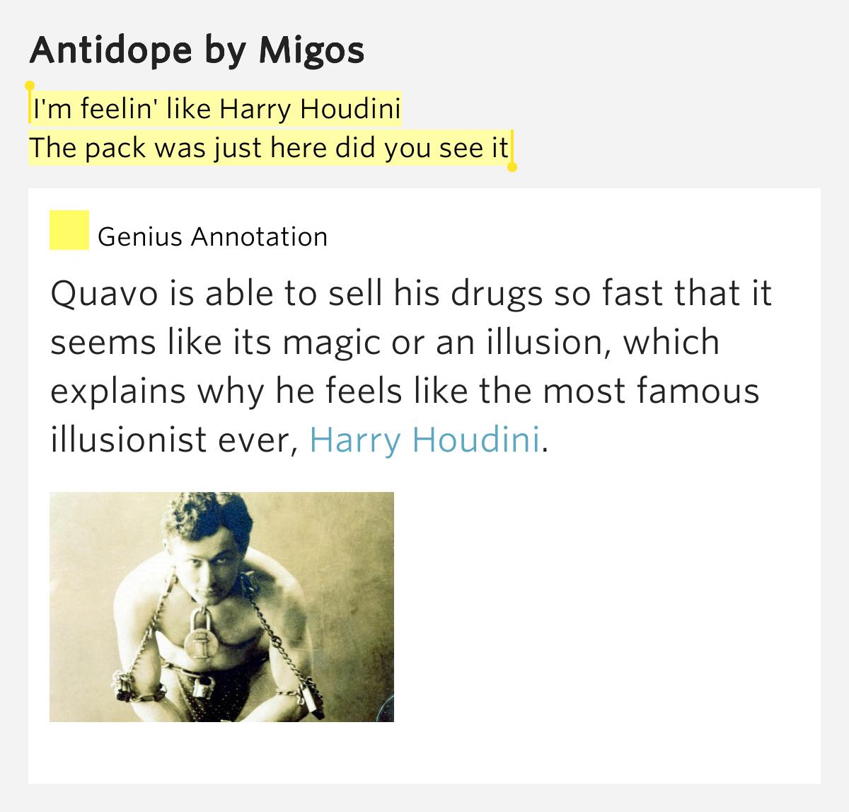 Migos – Antidope Lyrics | Genius Lyrics