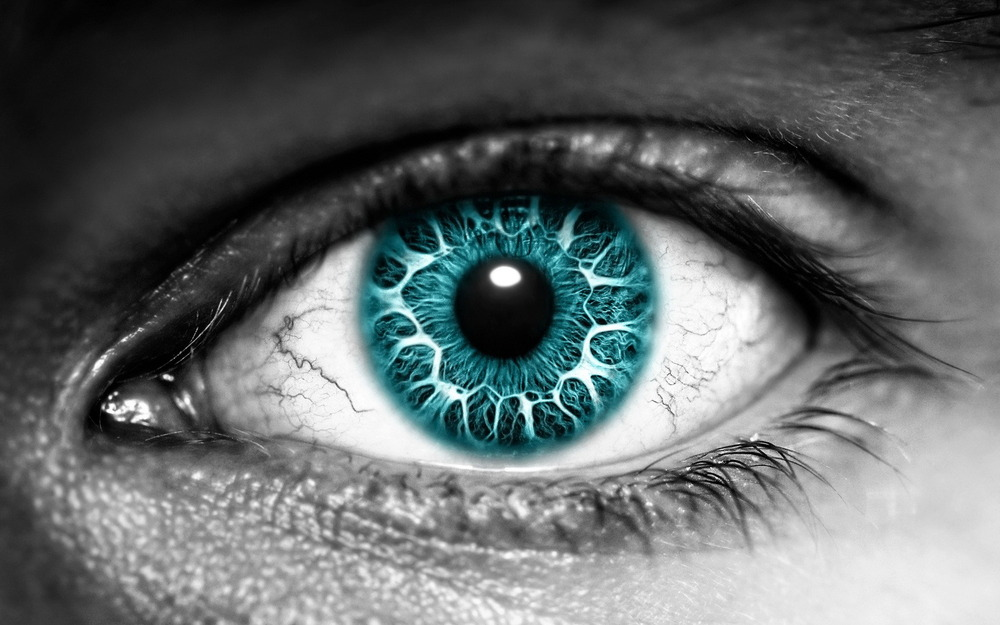 Azure eyes reflecting the sky and hidden dreams – The ...