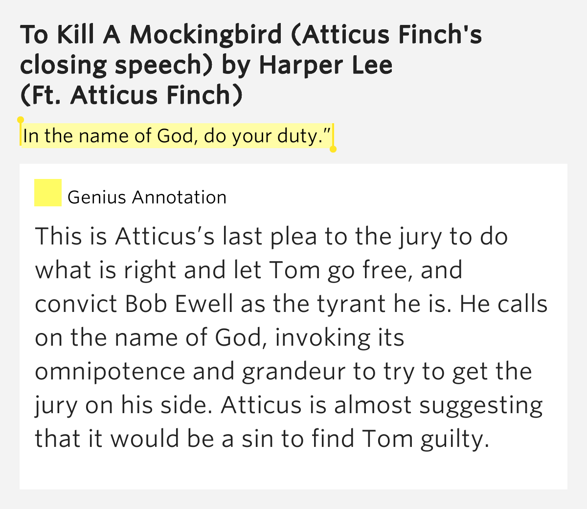 how does harper lee portray atticus Harper lee's classic coming-of-age novel to kill a mockingbird: characters, setting & author to kill a mockingbird is told through the voice of a young.