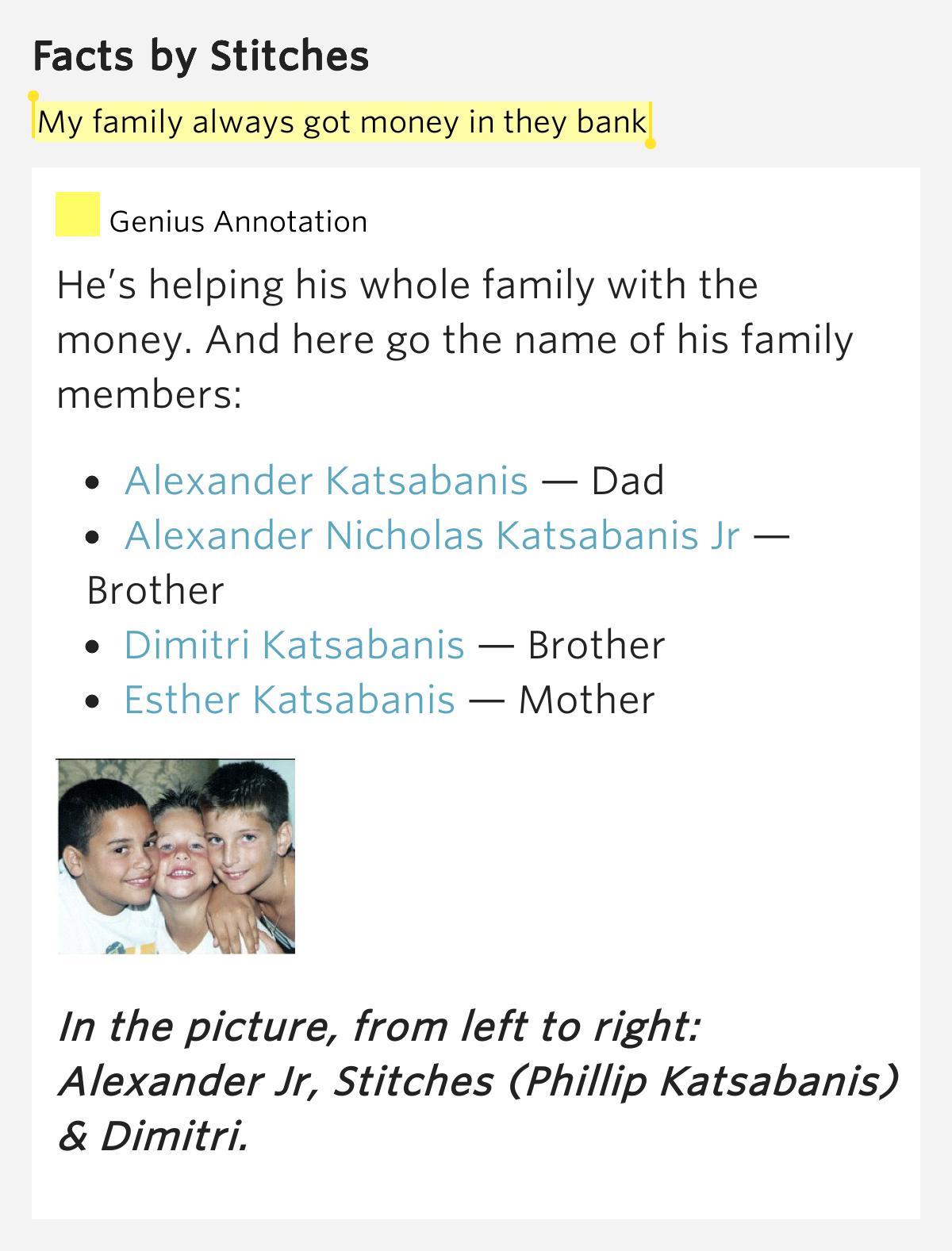 Lyrics containing the term: money