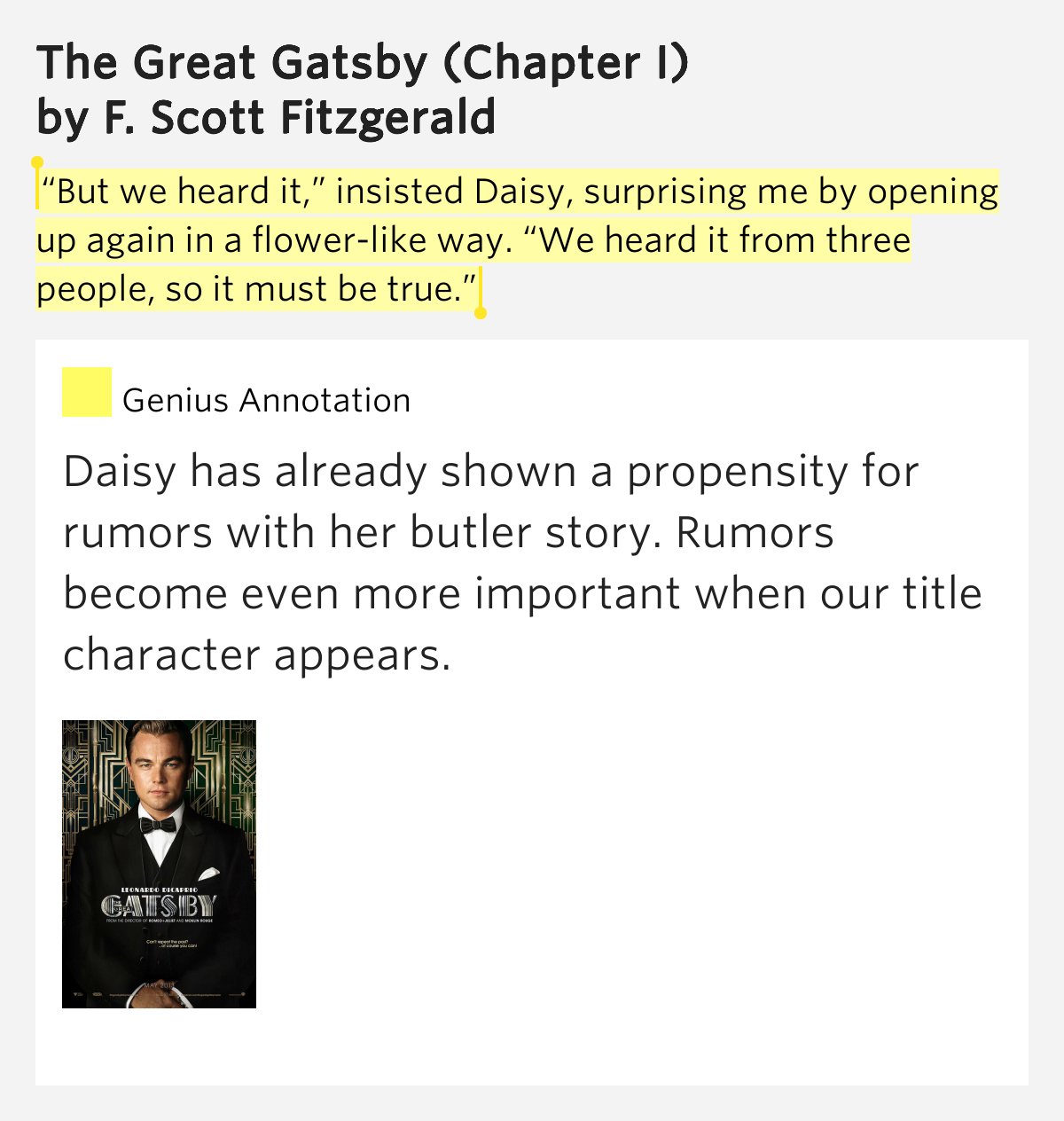 the effect of daisys personality on the plot of the great gatsby by f scott fitzgerald F scott fitzgerald,  in the great gatsby, fitzgerald explores characters in relation to their landscape,  and the purity of the english language.