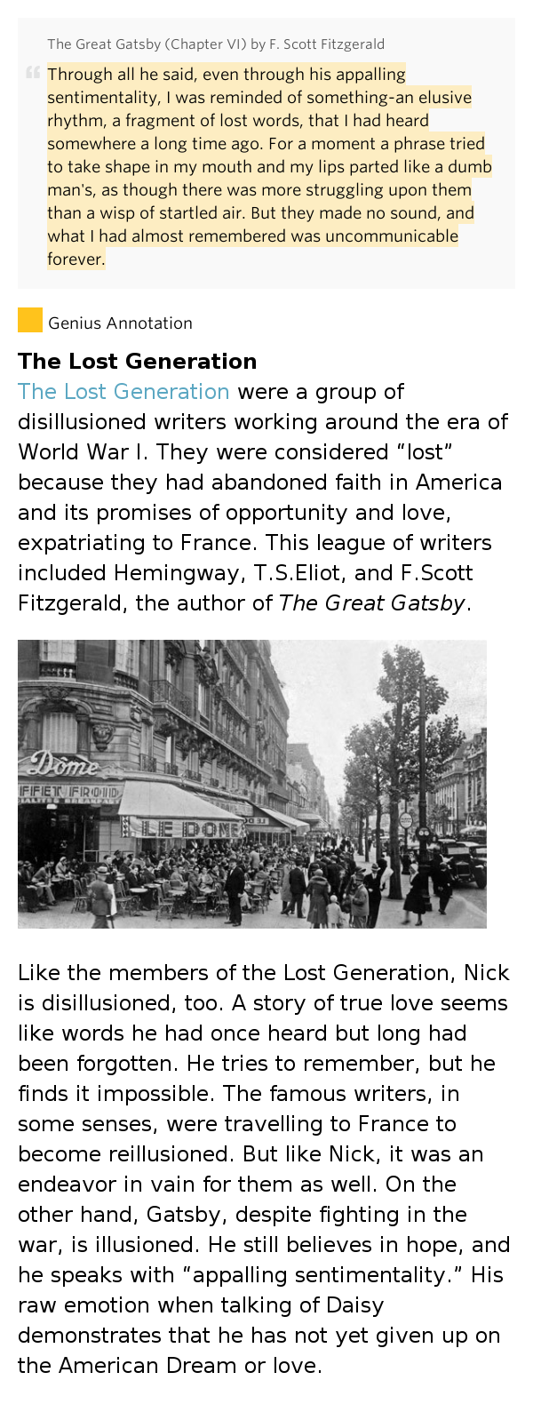 losing faith in mankind in the great gatsby by f scott fitzgerald Betrayal in f scott fitzgerald the great gatsby is a novel written by f scott she cheats on tom with gatsby she slowly started to lose faith.