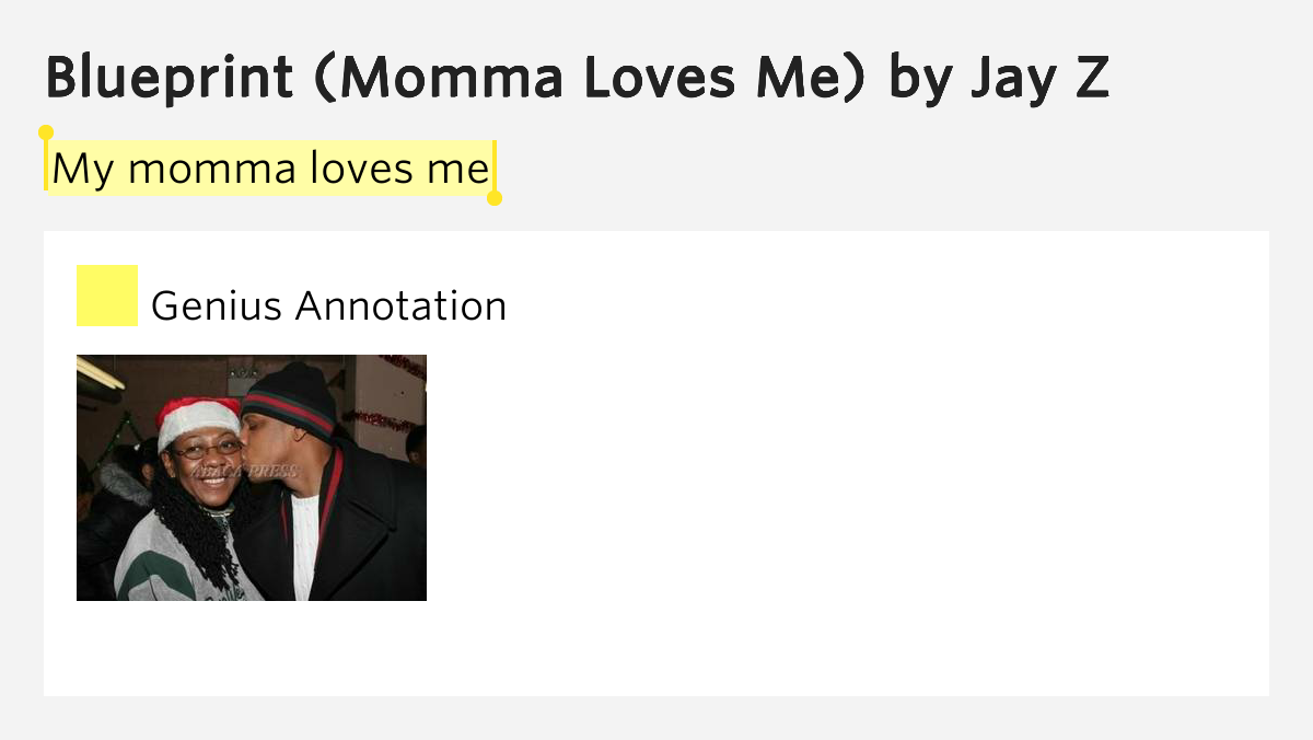 Jay z momma loves me more info my momma loves me pic source malvernweather Gallery
