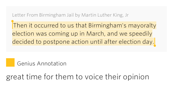 Quotes From Mlk Letter From Birmingham Jail: Then It Occurred To Us That..