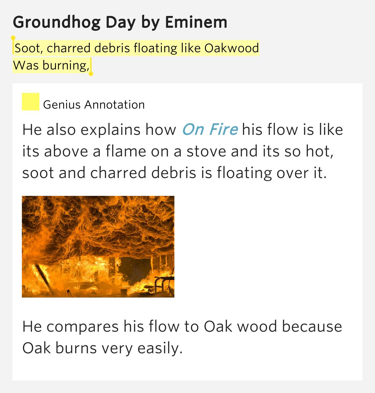 Eminem:Groundhog Day Lyrics - LyricWiki