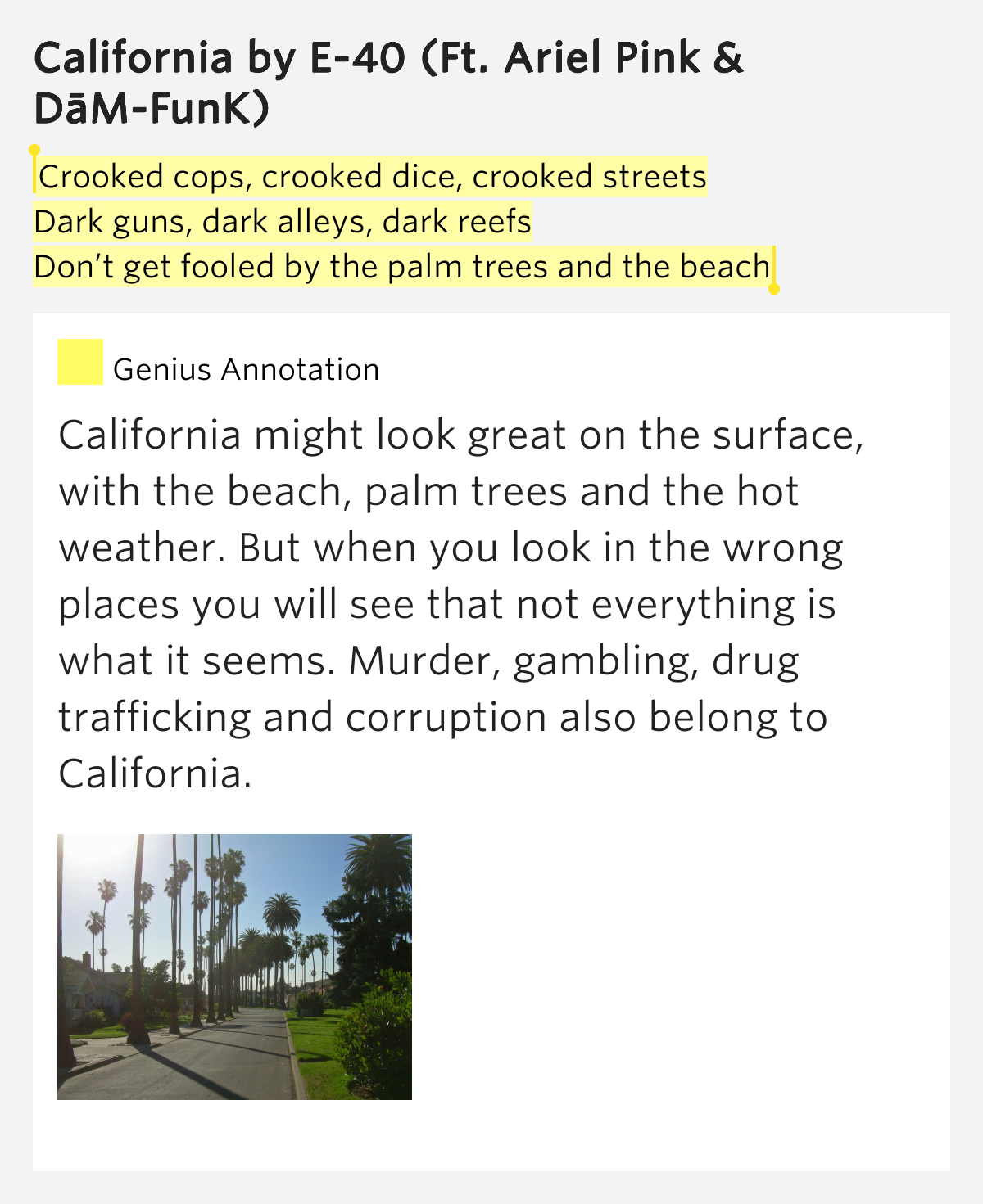 Crooked Cops, Crooked Dice, Crooked Streets / Dark Guns