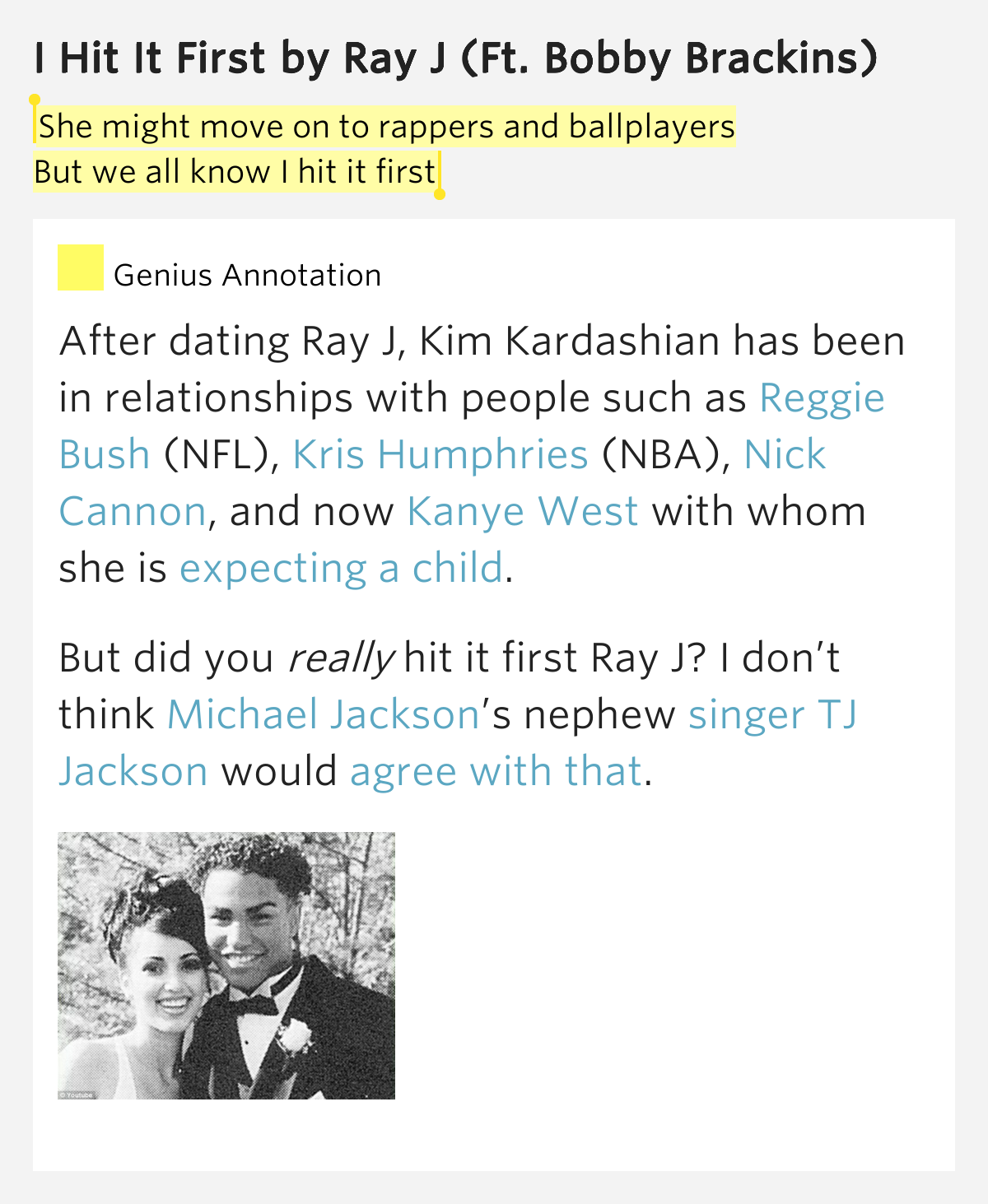 What dating sites is bobby brackins on