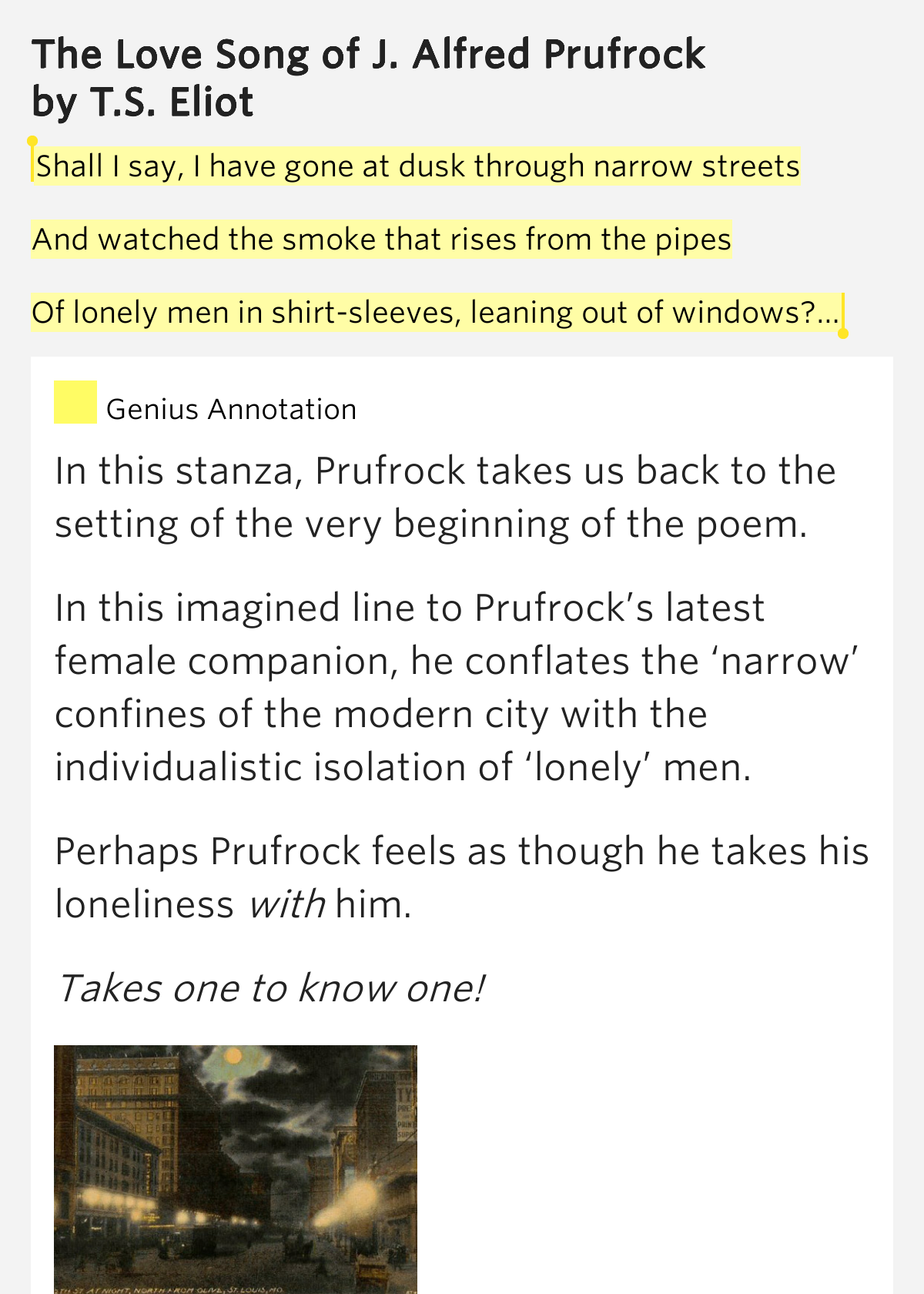the lovesong of j alfred prufrock text pdf