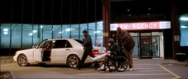 50 Cents Mercedes In Get Rich Or Die Trying