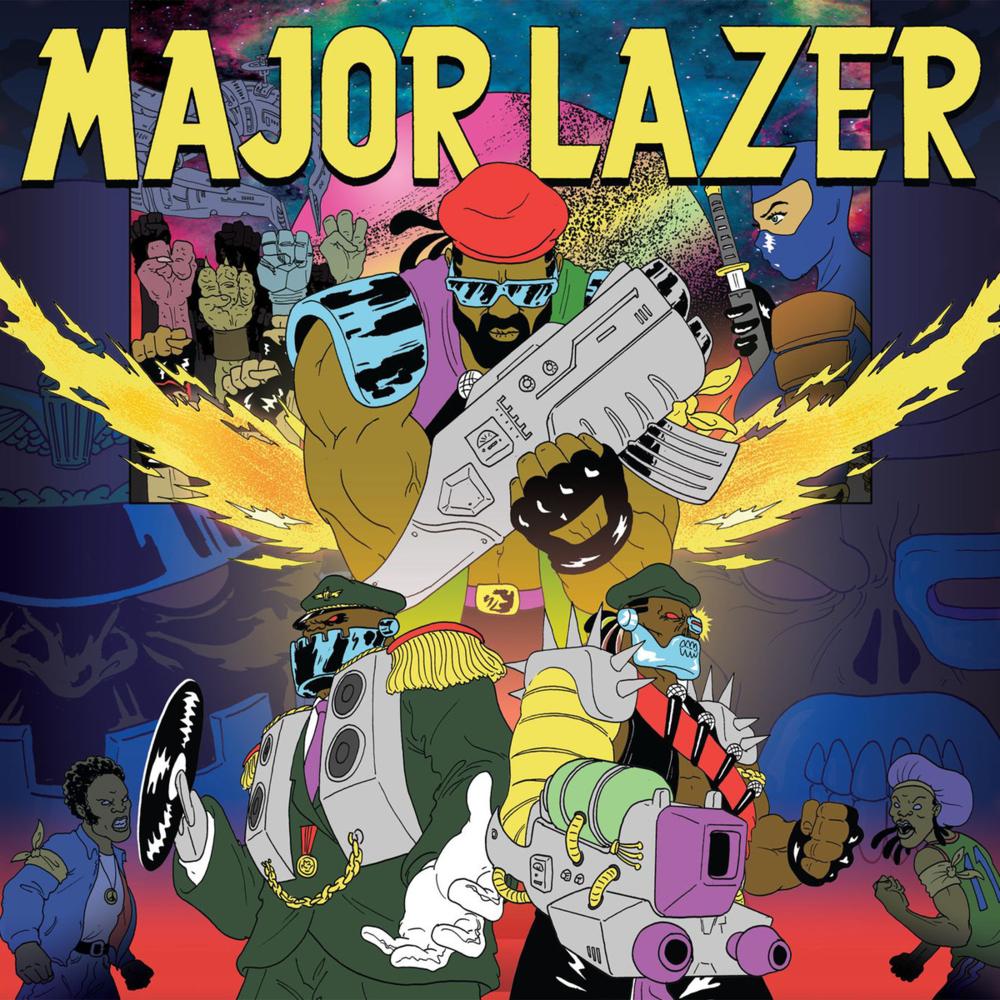 MAJOR LAZER - WATCH OUT FOR THIS (BUMAYE) LYRICS