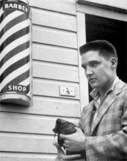 Fine Similiar Elvis Presley Army Haircut Keywords Hairstyles For Women Draintrainus
