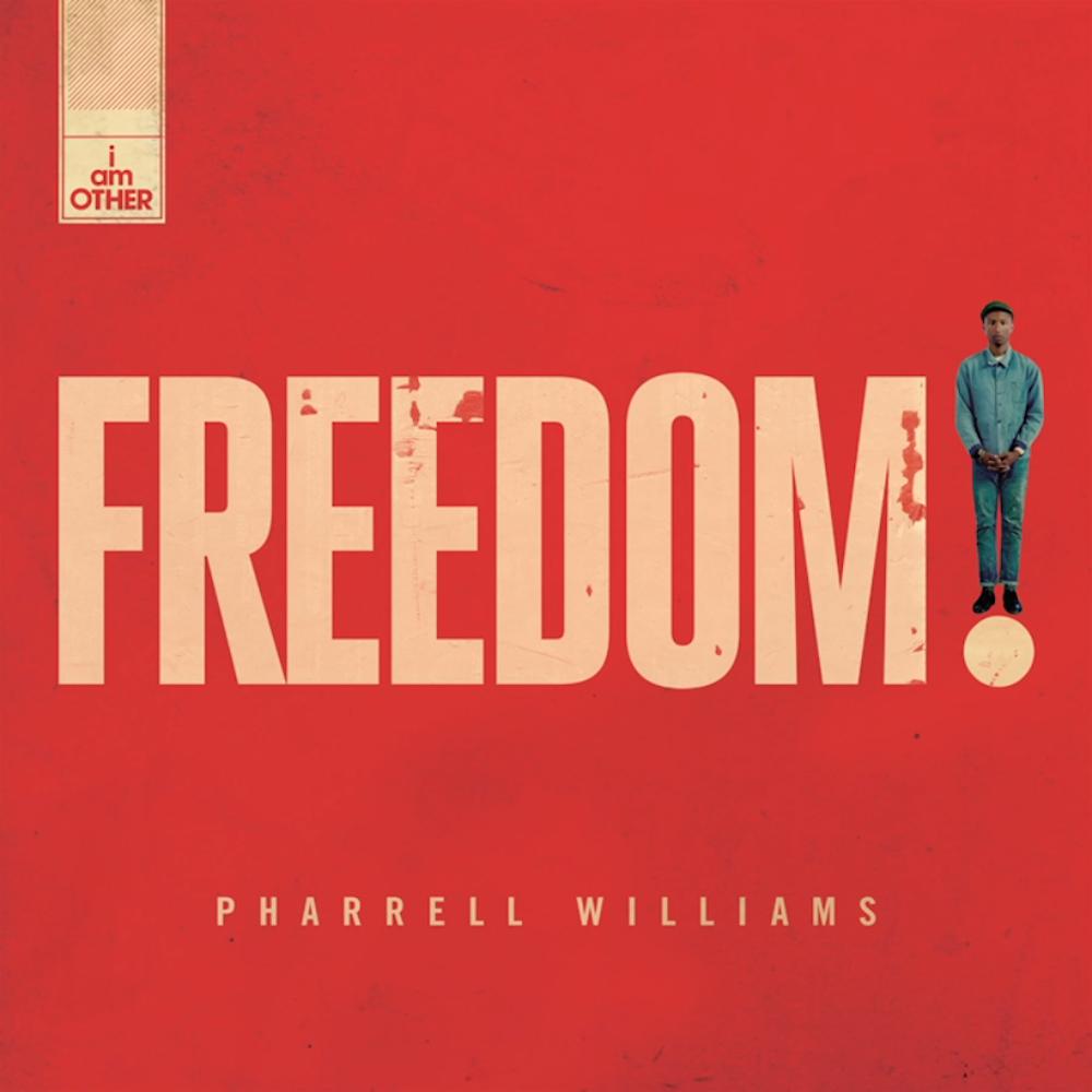 "PHARRELL WILLIAMS ESTRENA SU NUEVO SINGLE, ""FREEDOM"""