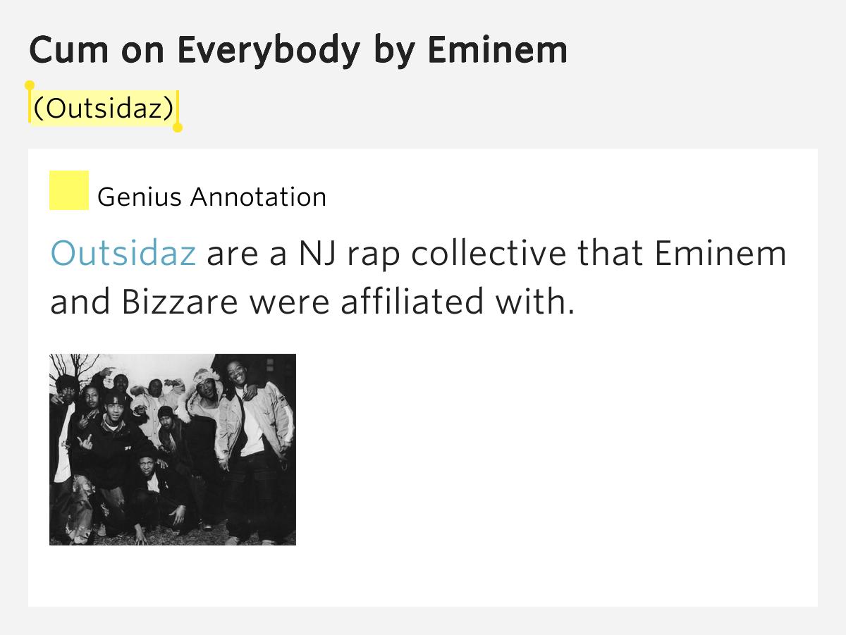 eminem cum on everybody lyrics