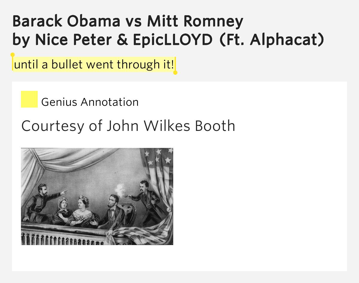 Epic Rap Battles of History - Barack Obama vs Mitt Romney ...