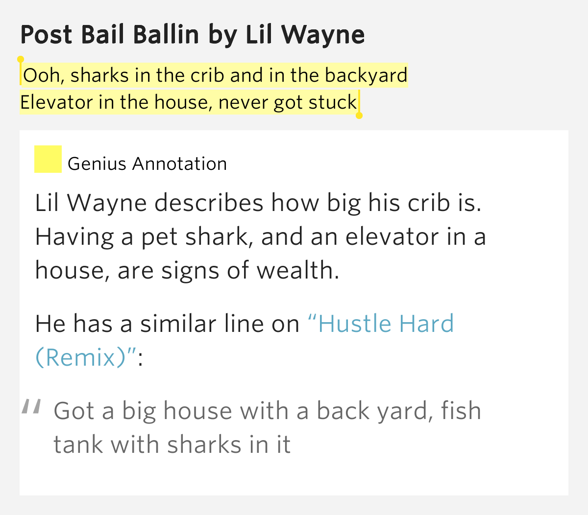 ooh sharks in the crib and in the backyard elevator in the house